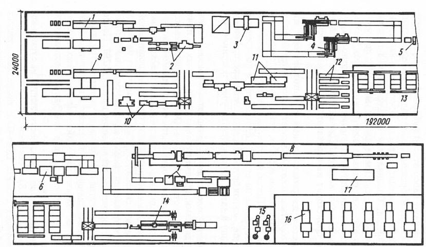 Схема изготовления дверных