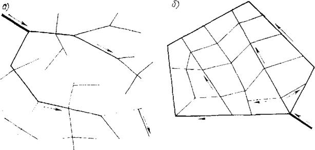 Схема водопроводной сети а