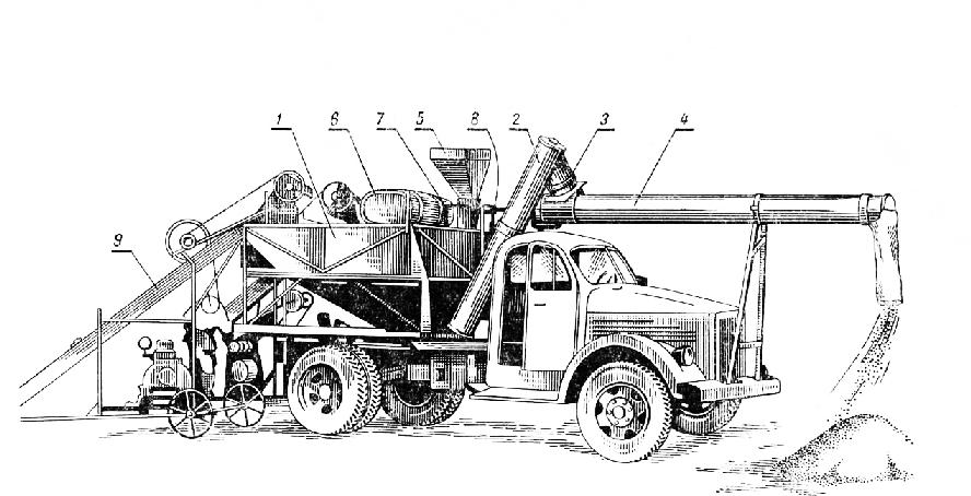 Схема автозагрузчика АС-2,