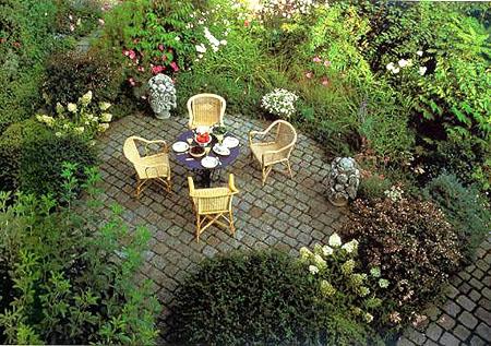 Внутренний дворик или зона отдыха
