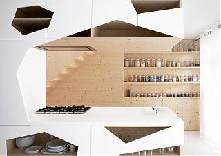 Кухонные фасады нестандартной формы