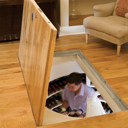В полу двери как сделать